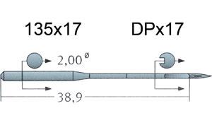 135x17 Groz Beckert Needles