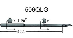 506 aiguilles QLG Groz Beckert