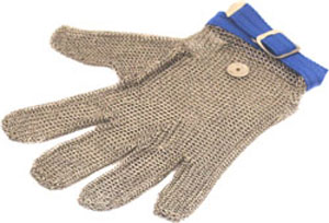 Gants de protection en cotte de mailles