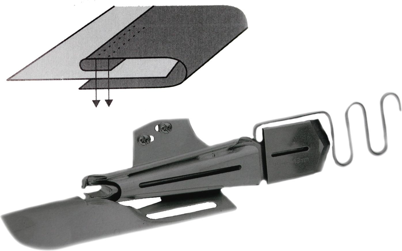 3 Fold Split Tube Flat Bed Binder