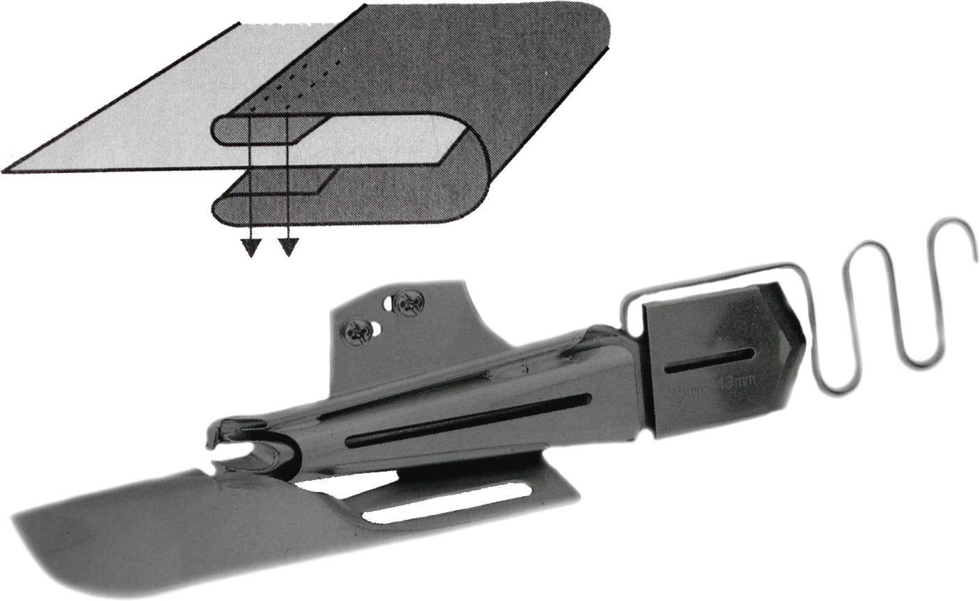 Double Fold Split Tube Flat Bed Binder