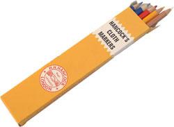 Crayons de marquage à la craie