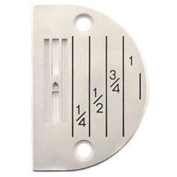 Plaques à aiguilles pour machine à coudre