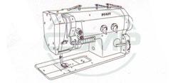 Pièces pour machines à coudre Pfaff 422 et 1422