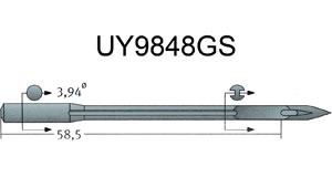 UY9848GS Groz Beckert Needles